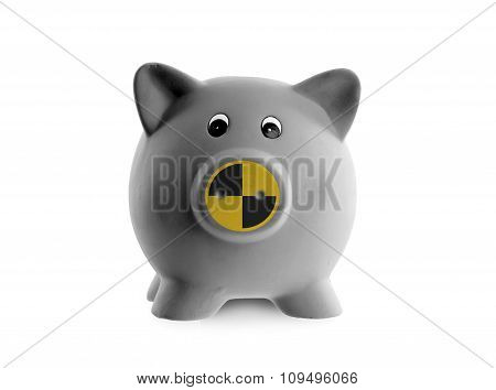 Ceramic Piggy Bank (crash Test Dummy)