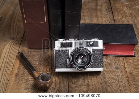 Camera And Pipe