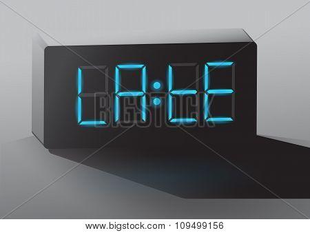 clock LATE