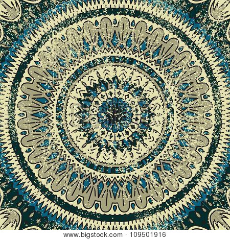 Mandala. Vector Background.