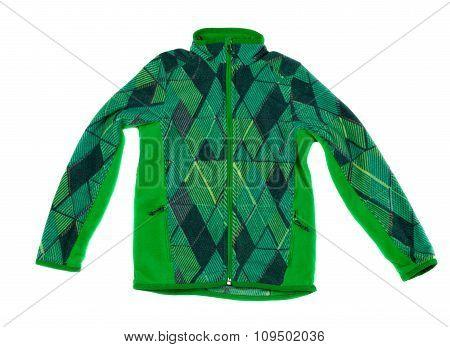 Green Fleece Jacket