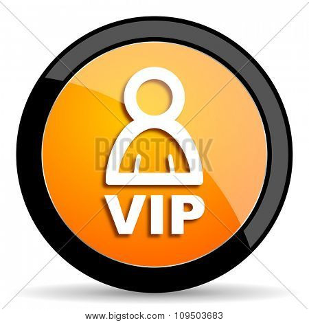 vip orange icon