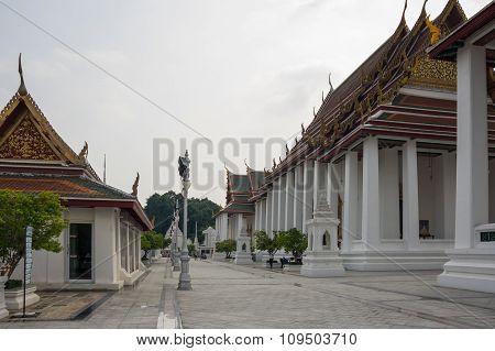Wat Ratchanaddaram And Loha Prasat Metal Palace