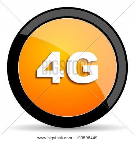 4g orange icon