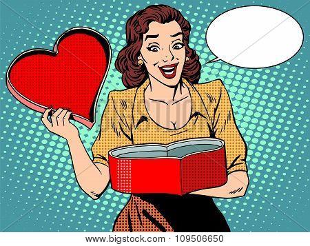 Romantic gift love heart female pleasure