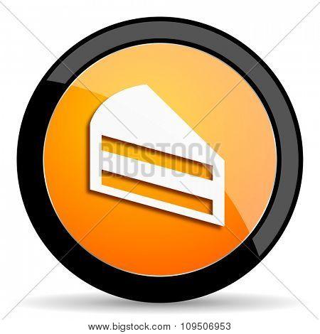 cake orange icon