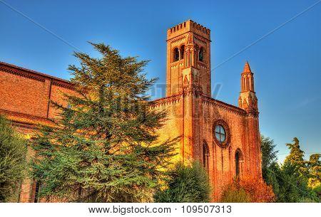 Chiesa Di San Francesco In Mantua - Italy