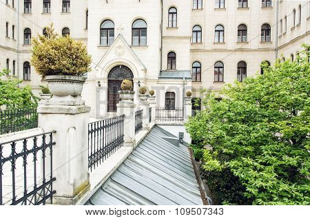 Theological College In Gyor, Architectural Theme