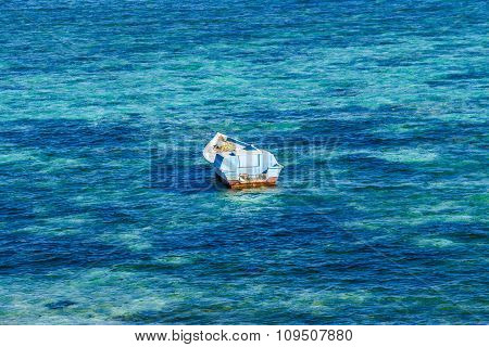 Fisherman Boat In The Red Sea