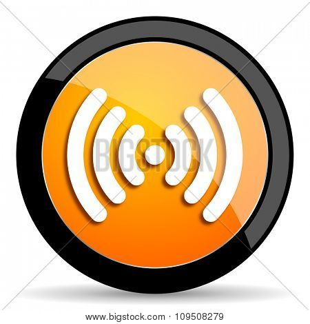 wifi orange icon