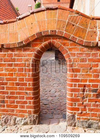 Small Brick Gate