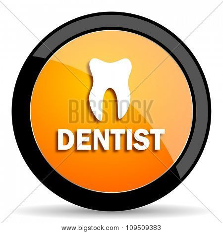 dentist orange icon