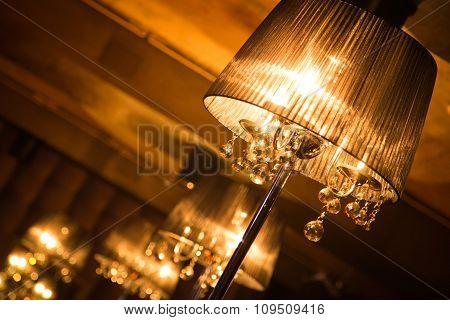 Lamp In Interior