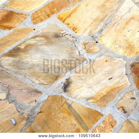 Pattern Santo Antonino    Varese Abstract   Pavement Of  And Marble