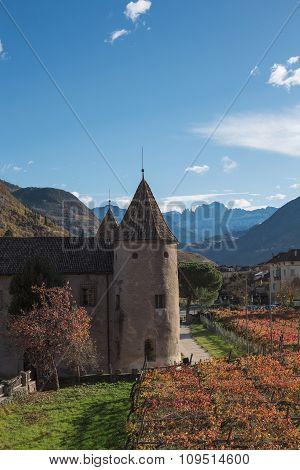Castle In Bolzano, Italy