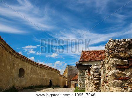 The castle-Rasnov-Roumanien