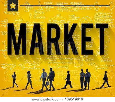 Business Market Marketing Buying Consumer Concept