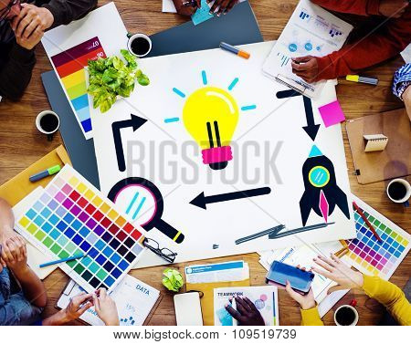 Ideas Inspiration Imagination Vision Innovation Concept