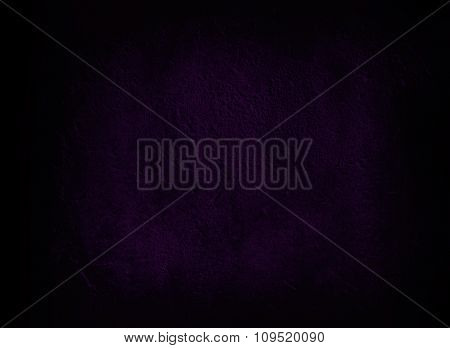Dark Violet Wall Background Or Texture
