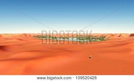 Oasis in the desert