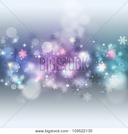 Bright Multicolor Christmas Background