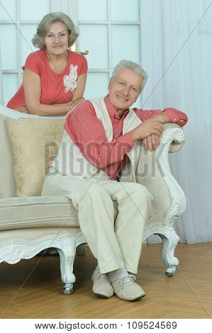 couple in vintage room