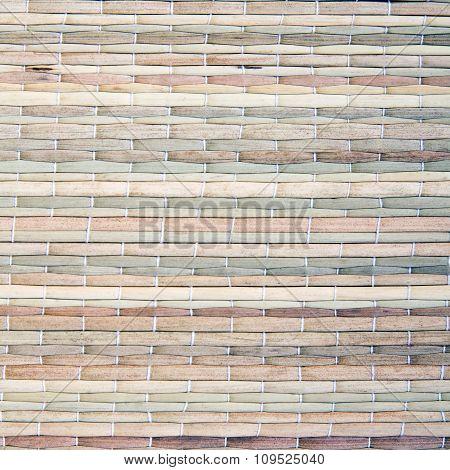 Dried grass mat texture