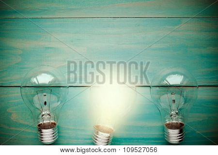 Lightbulb Glowing Among The Others