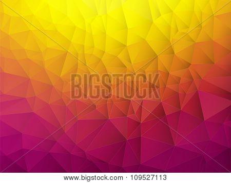 Orange Violet Background With Shadow