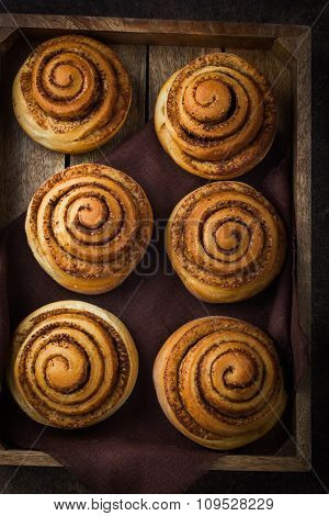 Fresh Baked Cinnamon Buns