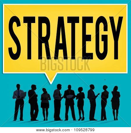 Strategy Business Planning Process Solution Concept