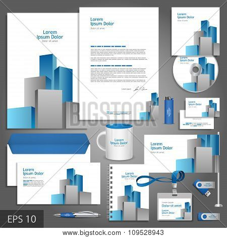 Architectural Corporate Identity Template