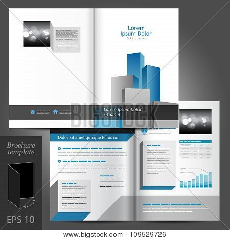 Architectural Brochure Template Design