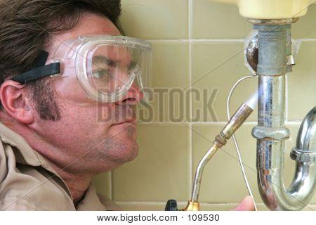 Plumber Soldering