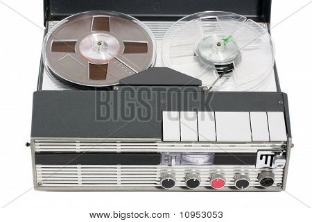 Retro Vintage Portable Tape Recorder
