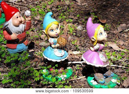 Gnome Forest Figurines: Gnomesville, Western Australia