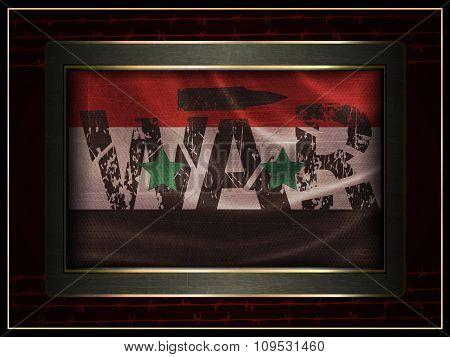 flag of Syria War