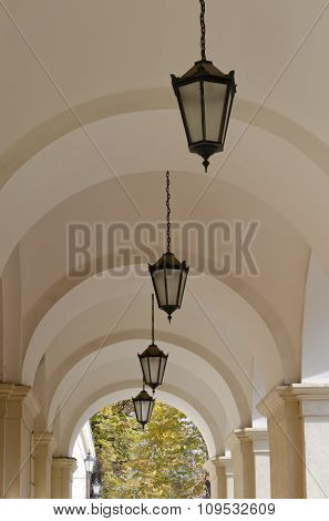 Arches With Lanterns