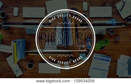 High Quality Brand Best Badge Stamp Concept