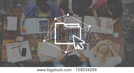 Information Storage Data Content Media Statistics Concept
