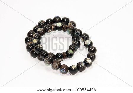 Wooden handmade men bracelet