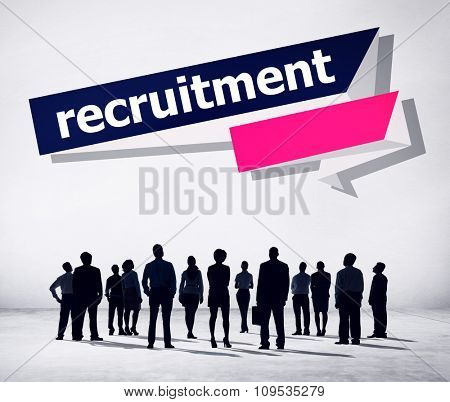 Recruitment Hiring Career Human Resources Concept