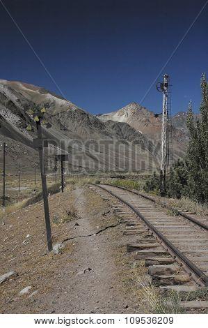 Abandoned Train Rails