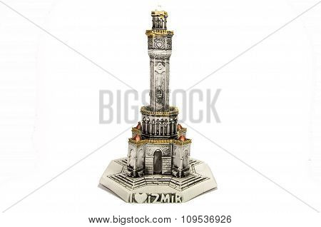 Miniature Model of Izmir Clock Tower