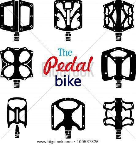 Options For Bicycle Pedals.