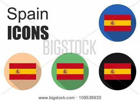 This Is Spain Flat Icons