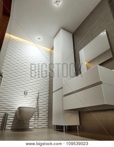 Bathroom In Modern Style