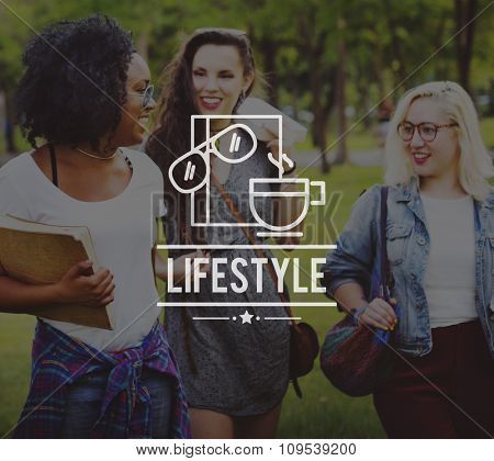 Lifestyle Identity Independence Individual Unique Concept