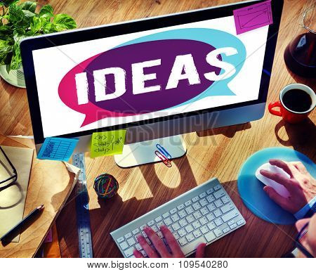 Ideas Inspiration Creativity Innovation Concept
