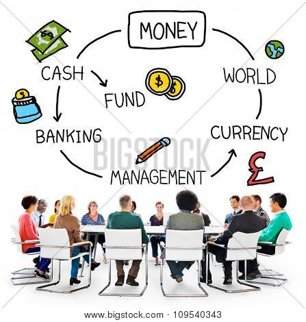 Money Cash Financial Currency Banking Concept